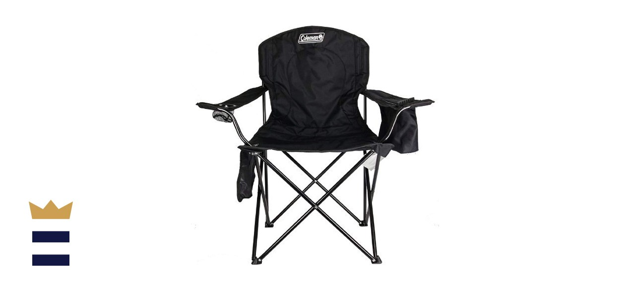 Coleman Quad Portable Camp Chair with 4-Can Cooler