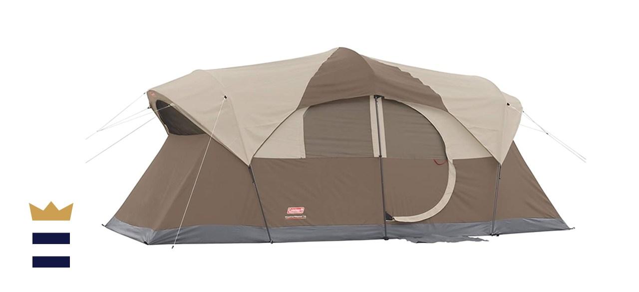 Coleman WeatherMaster 10-Person Outdoor Tent , Brown