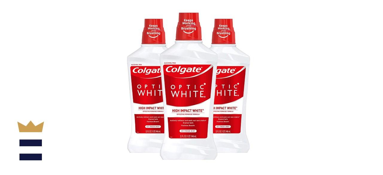 Colgate Optic White Whitening Mouthwash