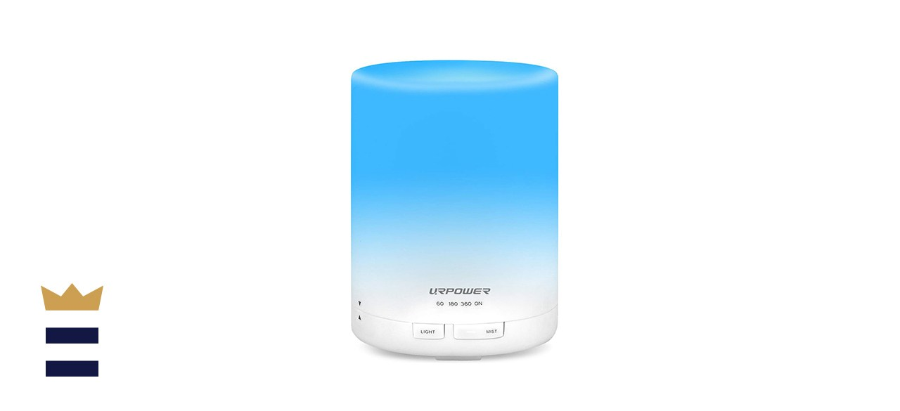 URPOWER 2nd Generation 300ml Aroma Essential Oil Diffuser Ultrasonic Air Humidifier