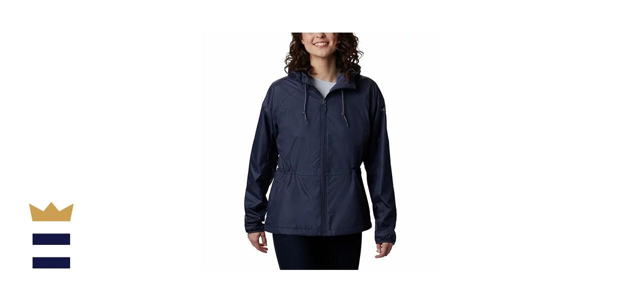 Columbia Side Hill Hooded Windbreaker Jacket
