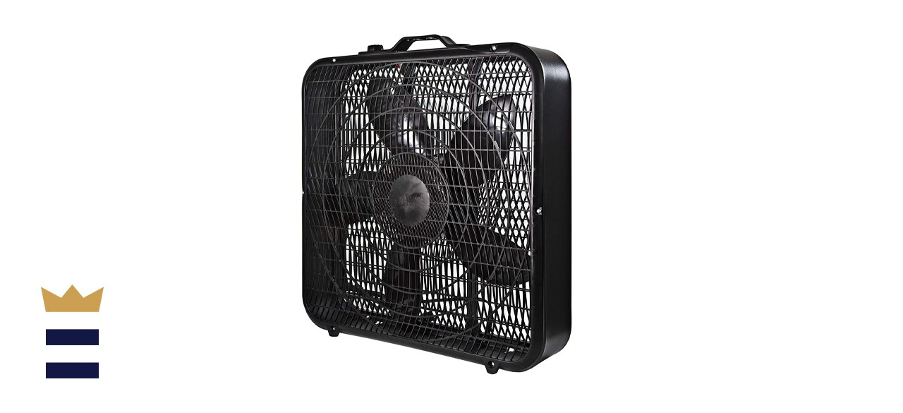 Comfort Zone 20-Inch High-Performance Box Fan