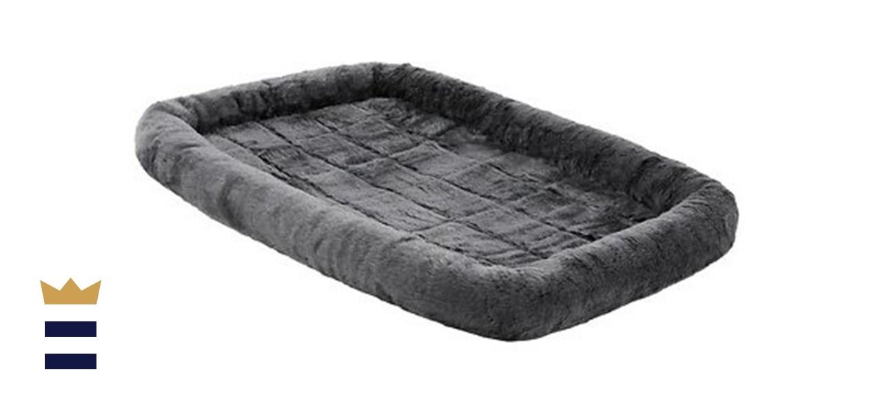 MidWest Quiet Time Fleece Dog Crate Mat