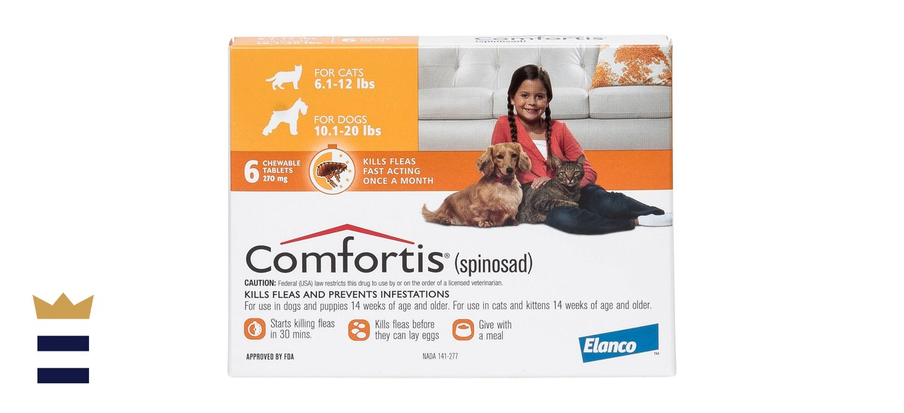 Comfortis Chewable Tablet for Cats and Dogs