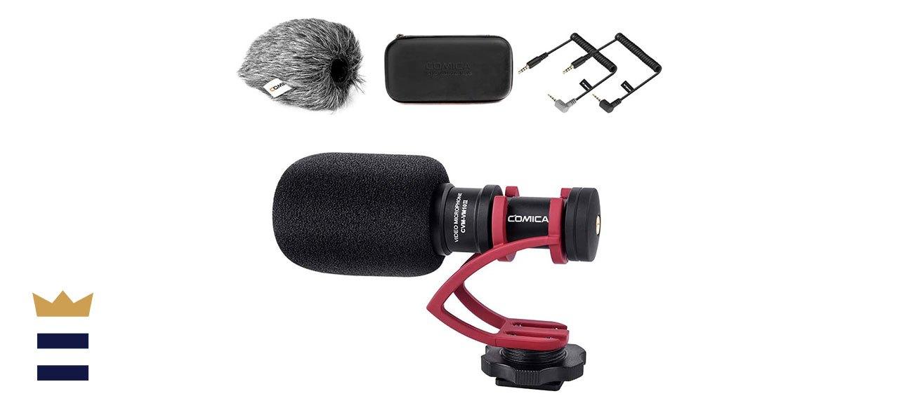 Comica's Cardioid Directional Mini Shotgun Video Microphone