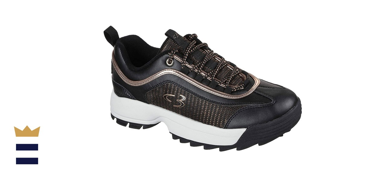 Concept 3 by Skechers Women's Beyond Fresh Lace-Up Sneaker