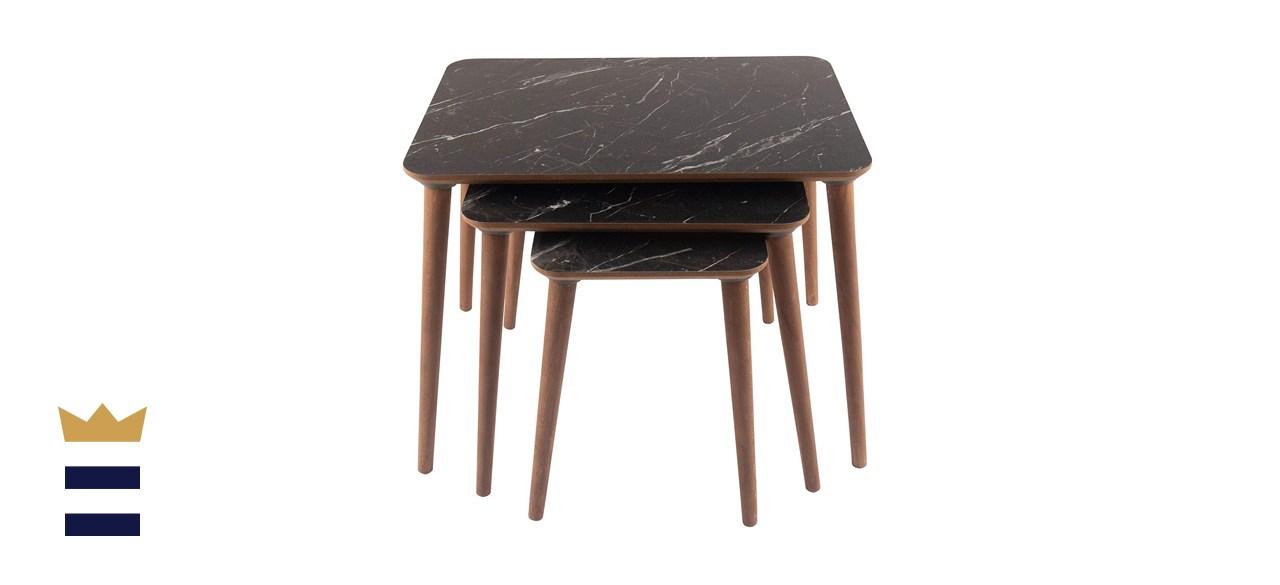 Context modern nesting coffee table set