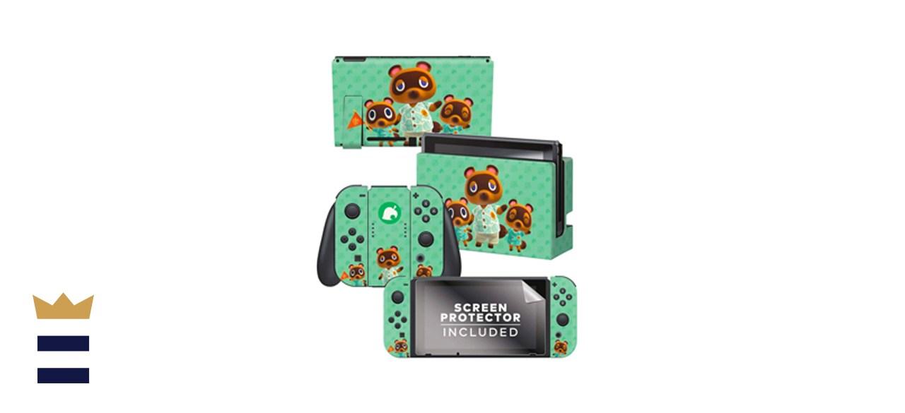 Controller Gear Animal Crossing: New Horizons Nintendo Switch Skin Bundle