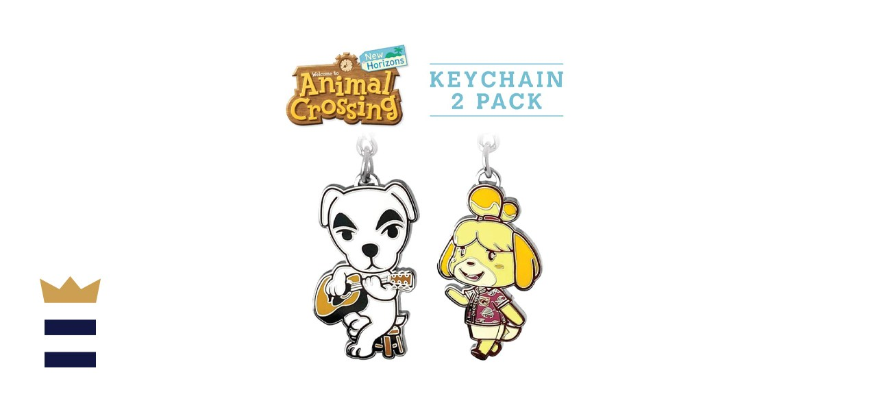 Controller Gear Animal Crossing: New Horizons Keychains