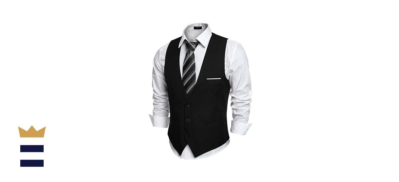 Coofandy Slim fit casual Suit Vest