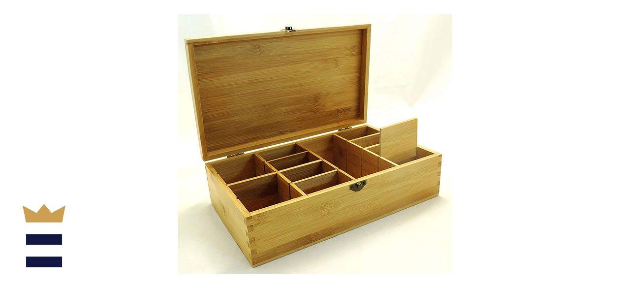 Cookbook Peoples Multikeep Adjustable Tea Box