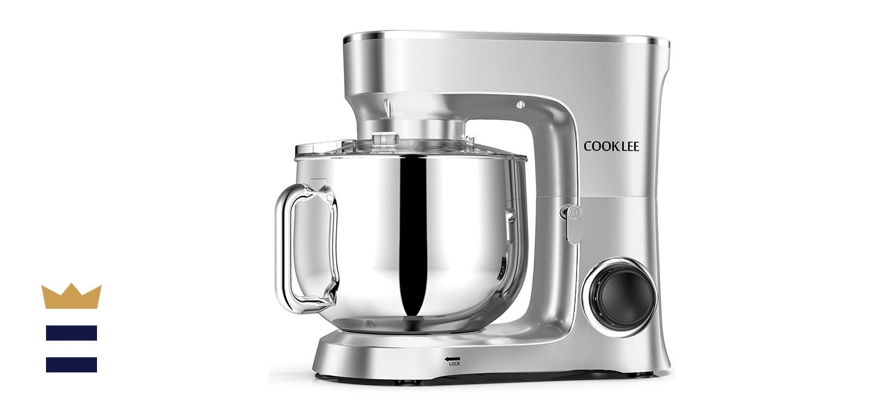 COOKLEE 9.5-Quart 10-Speed Stand Mixer