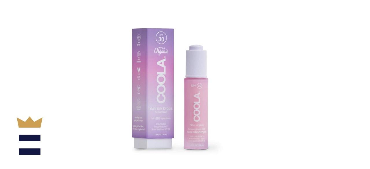 COOLA Organic Sunscreen Sun Silk Drops
