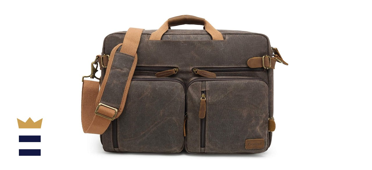 CoolBELL Laptop Messenger Bag Vintage Shoulder Bag