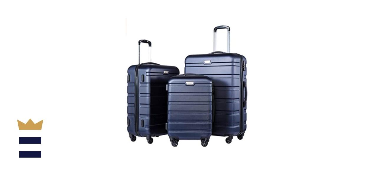COOLIFE 3 Piece Spinner Hardshell Luggage Set