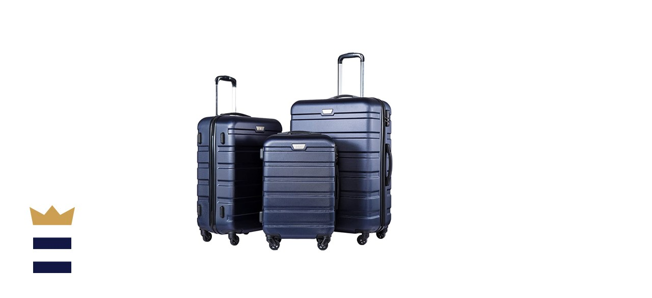 COOLIFE 3-Piece Spinner Luggage Set