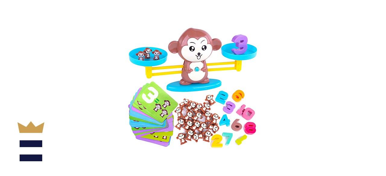 CoolToys' Monkey Balance Math Game