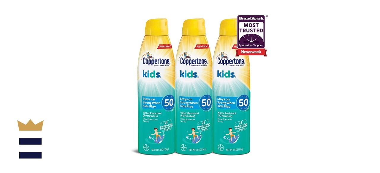 Coppertone KIDS Sunscreen Spray