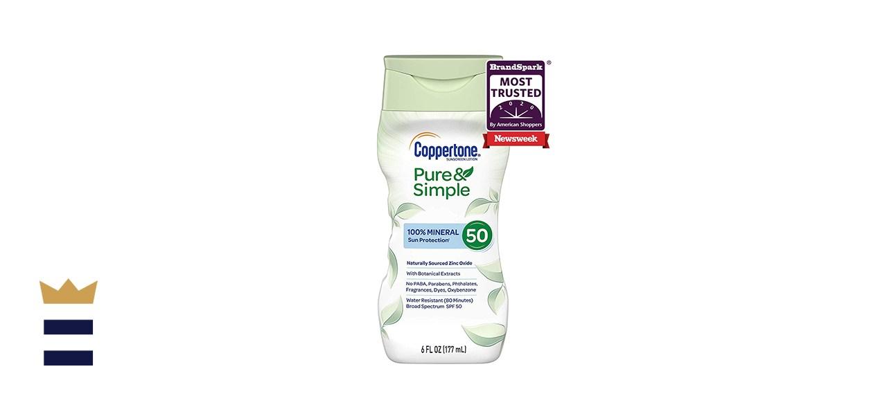 Coppertone Pure & Simple SPF 50 Lotion