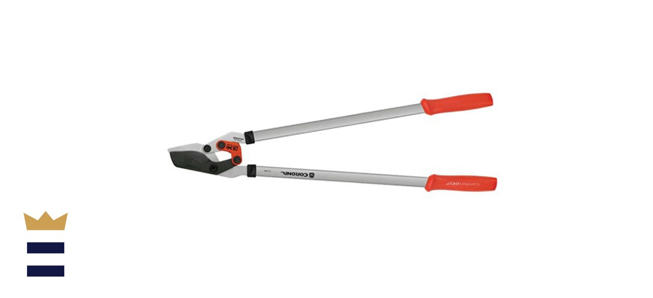 DualLINK 4 in. Coated Non-Stick Blade with Anti-Blister ComfortGEL Grips Bypass Lopper