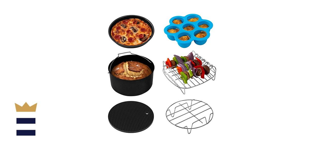 COSORI 6-Piece Air Fryer Accessories XL Set