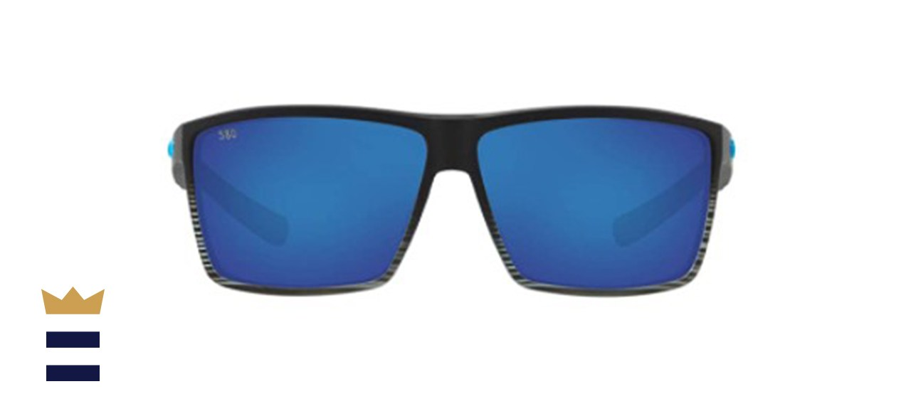 Costa Del Mar Men's Rincon Rectangular Sunglasses