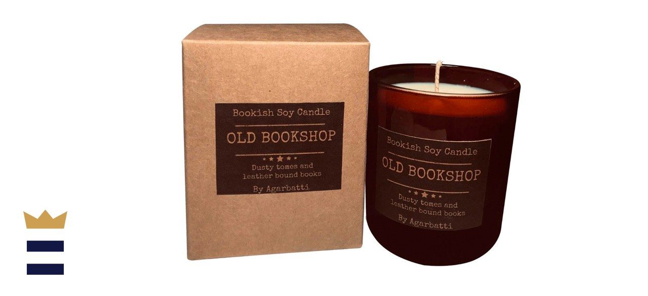 CosyArtLondon Book Lovers Soy Candle
