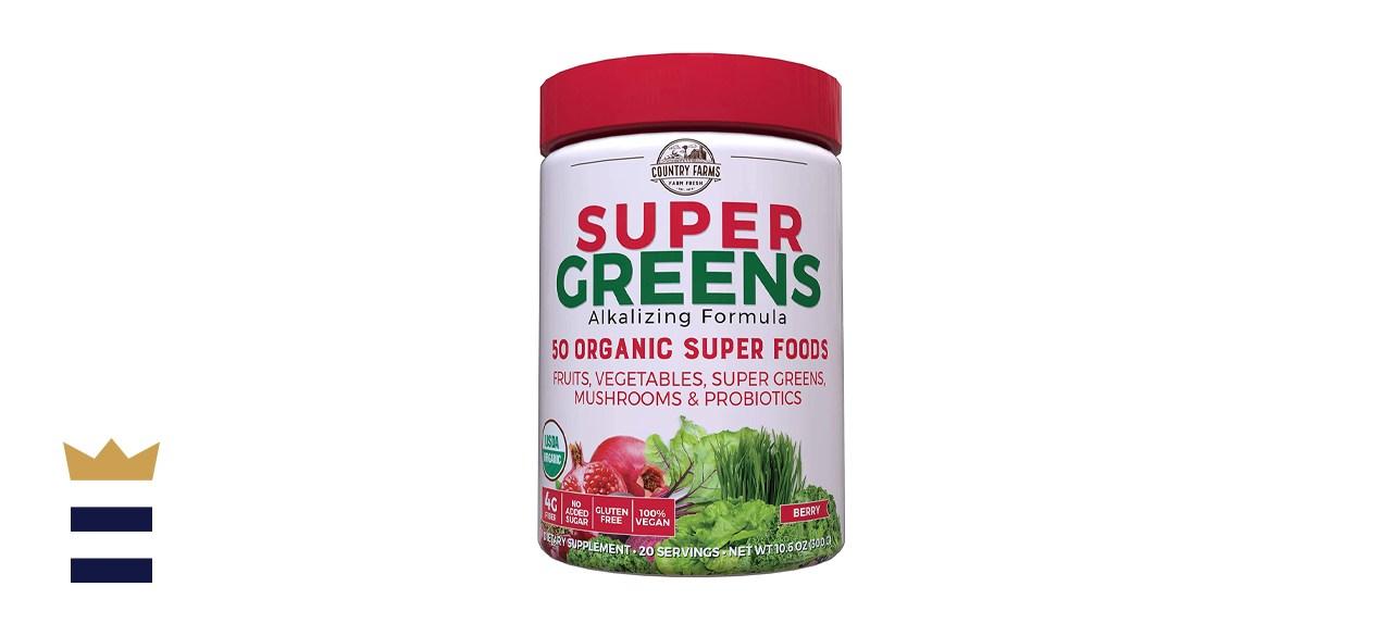 Country Farms Organic Super Greens Powder