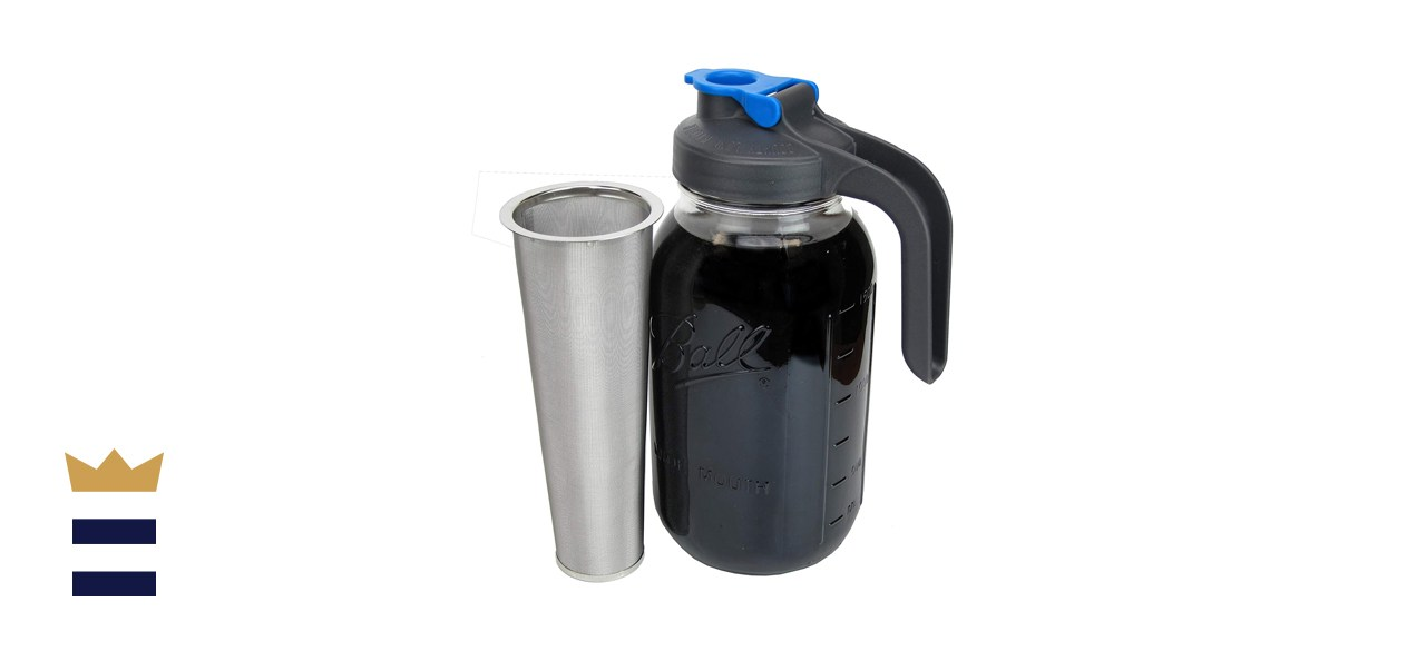 Country Line Kitchen Mason Jar Cold Brew Maker