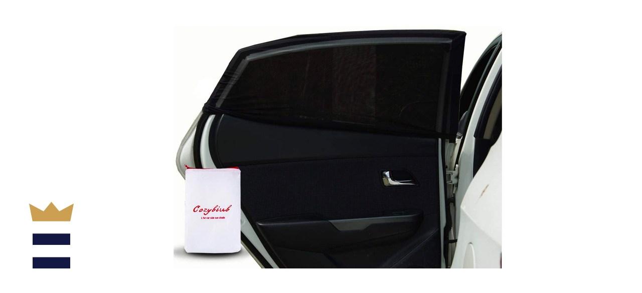 Cozybiub Premium 2-Pack Car Side Window Sun Shades