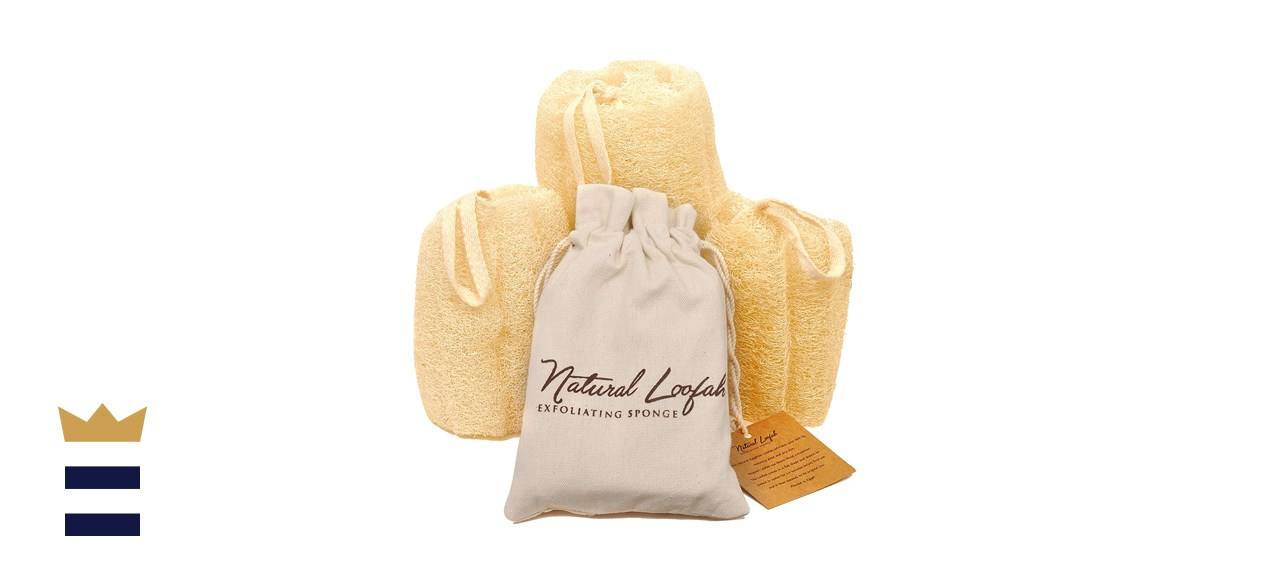 Crafts of Egypt All-Natural Loofah Sponge