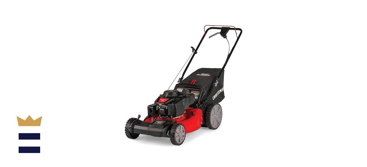 Craftsman 21-Inch 3-in-1 Lawn Mower with Bagger