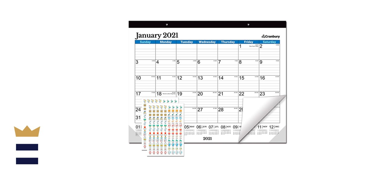 Cranbury Large Desk Calendar