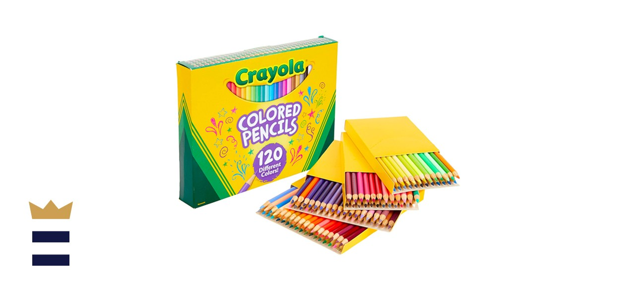 Crayola 120 Colored Pencils