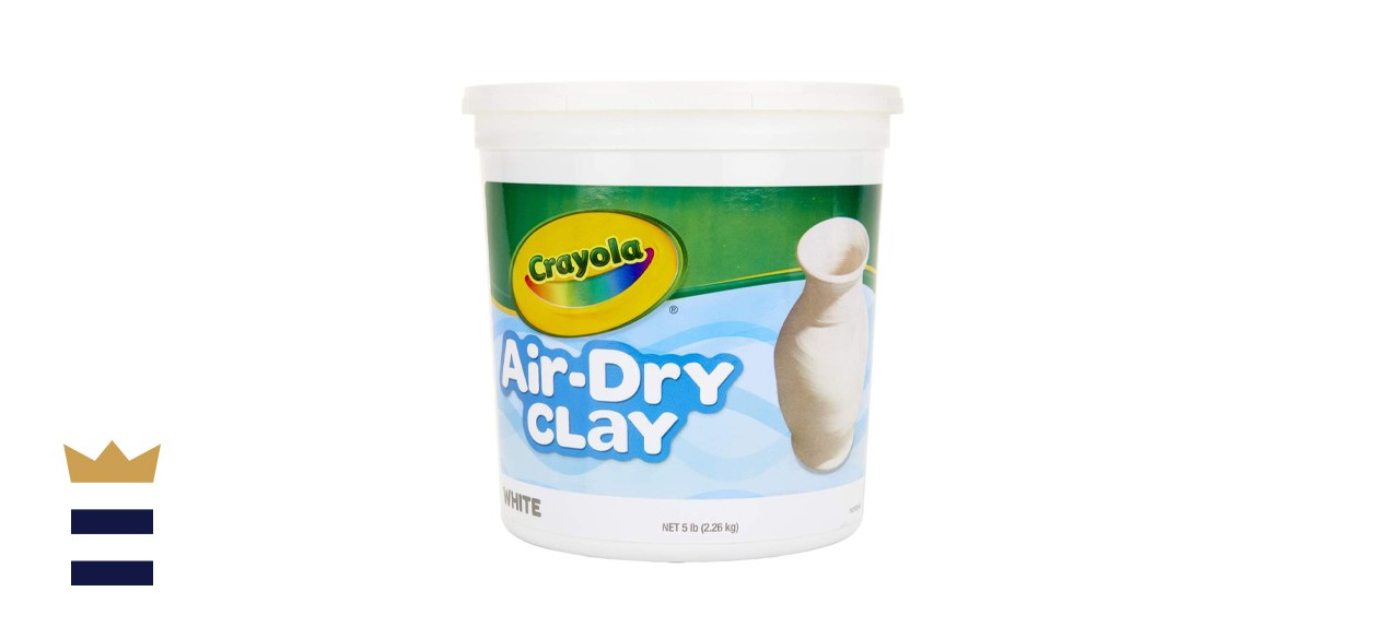 Crayola Air Dry Natural White Modeling Clay