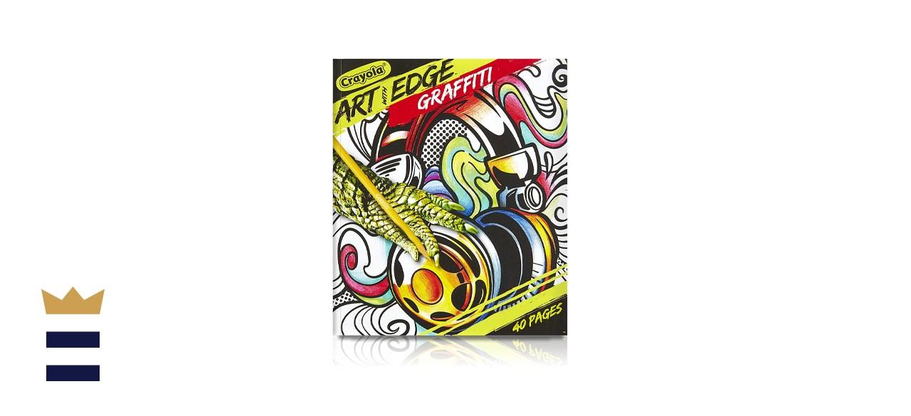Crayola Art with Edge Graffiti Coloring Book