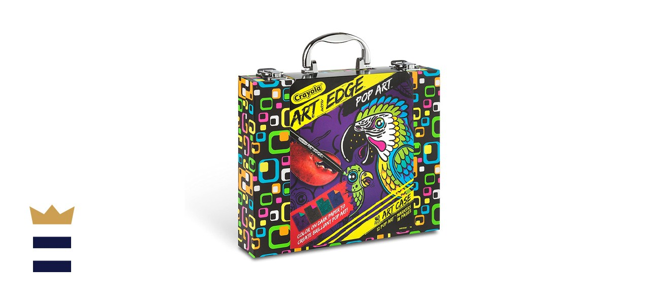 Crayola Art with Edge Pop Art Neon Coloring Page Set
