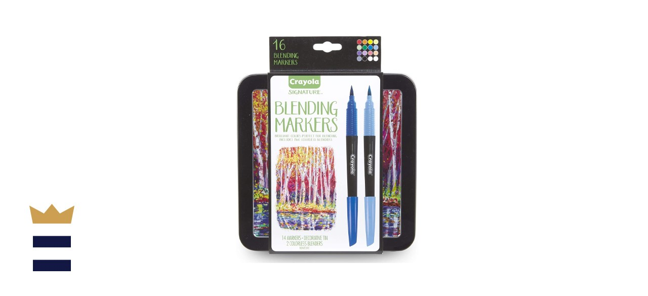 Crayola Blending Marker Kit with Decorative Case