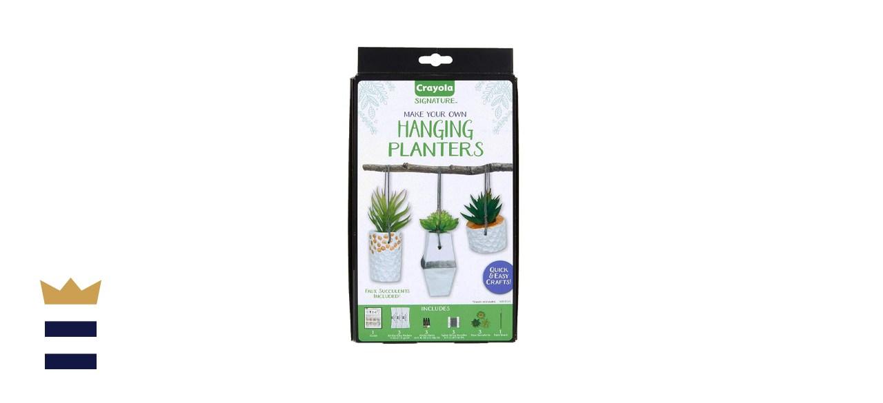Crayola DIY Hanging Planter Kit