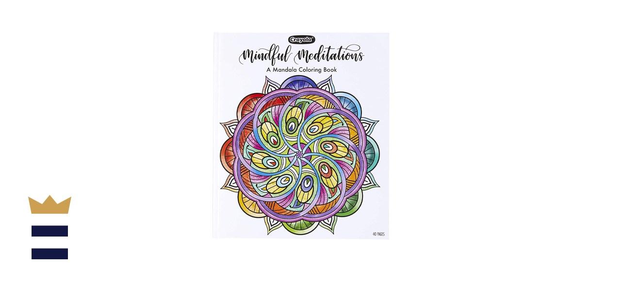 Crayola Mandala Coloring Book