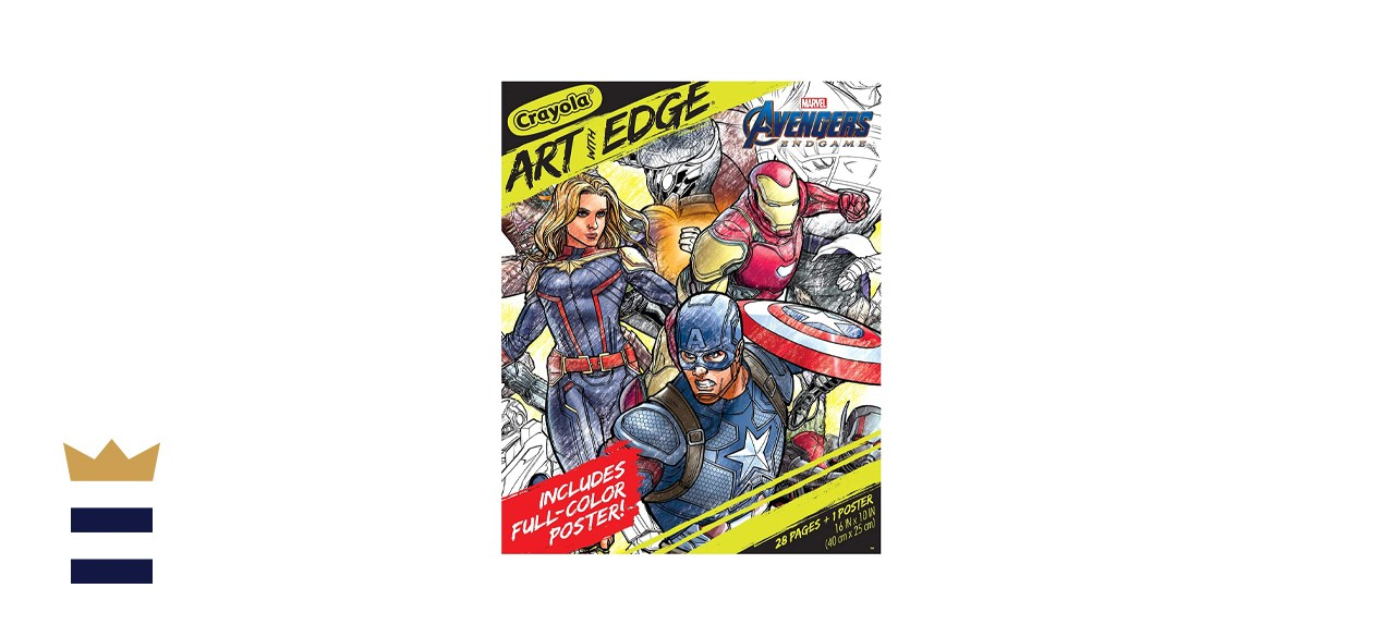 Crayola Marvel Avengers Endgame Coloring Pages