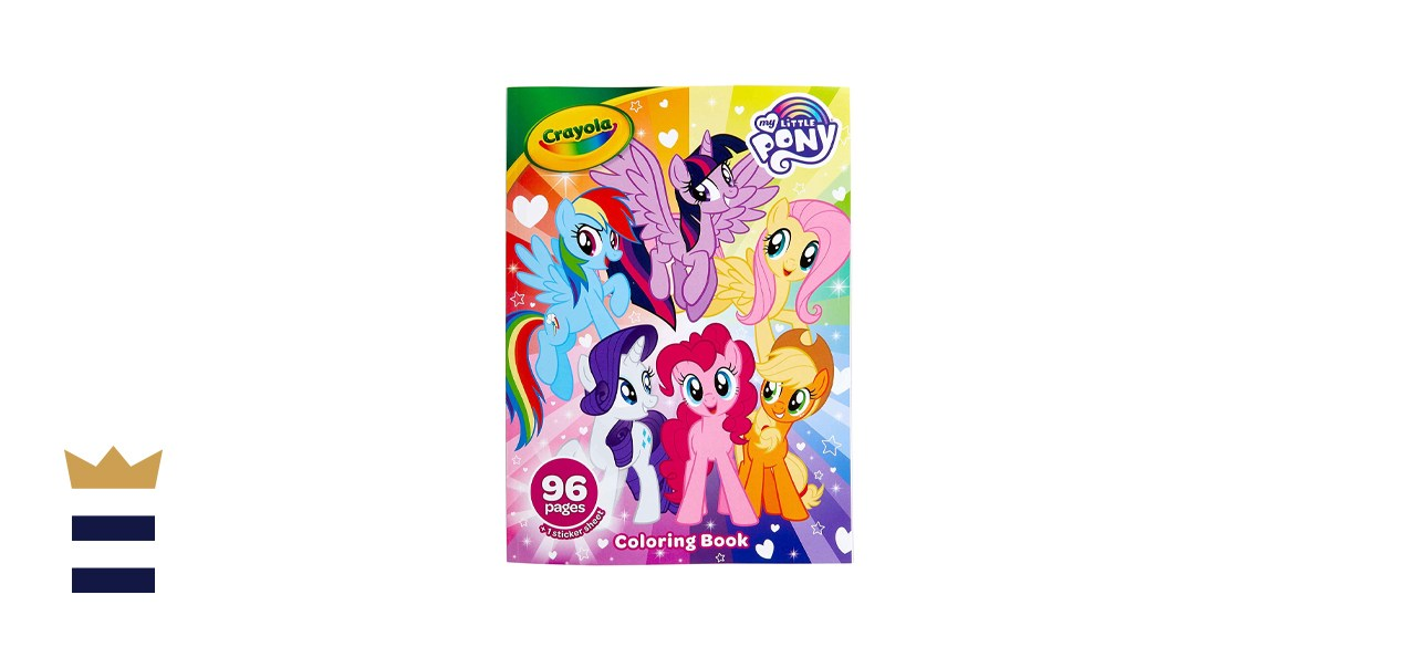 Crayola My Little Pony Coloring Book