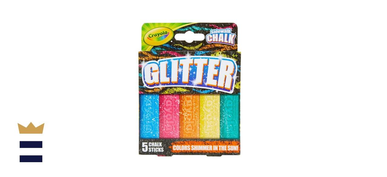 Crayola Outdoor Glitter Sidewalk Chalk