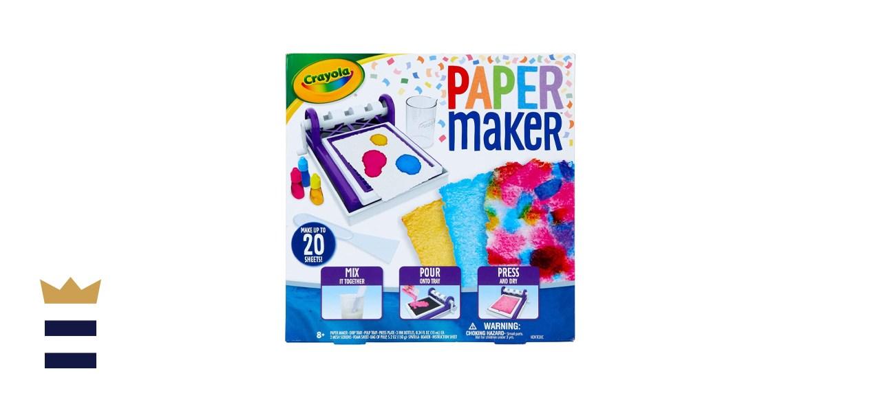 Crayola Paper Making DIY Craft Kit