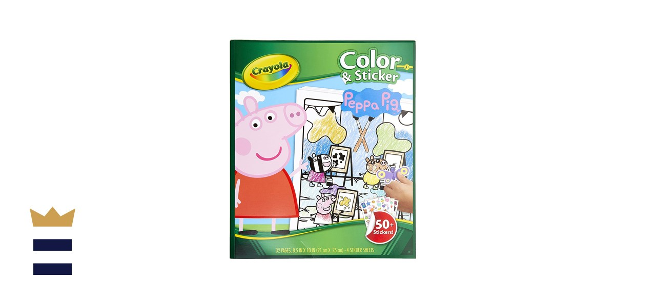 Crayola Peppa Pig Coloring Pages