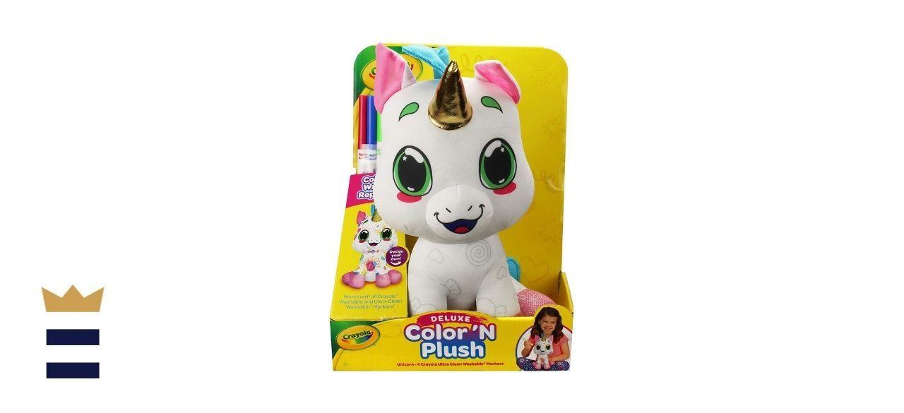 Crayola's Deluxe Color 'N Plush Unicorn