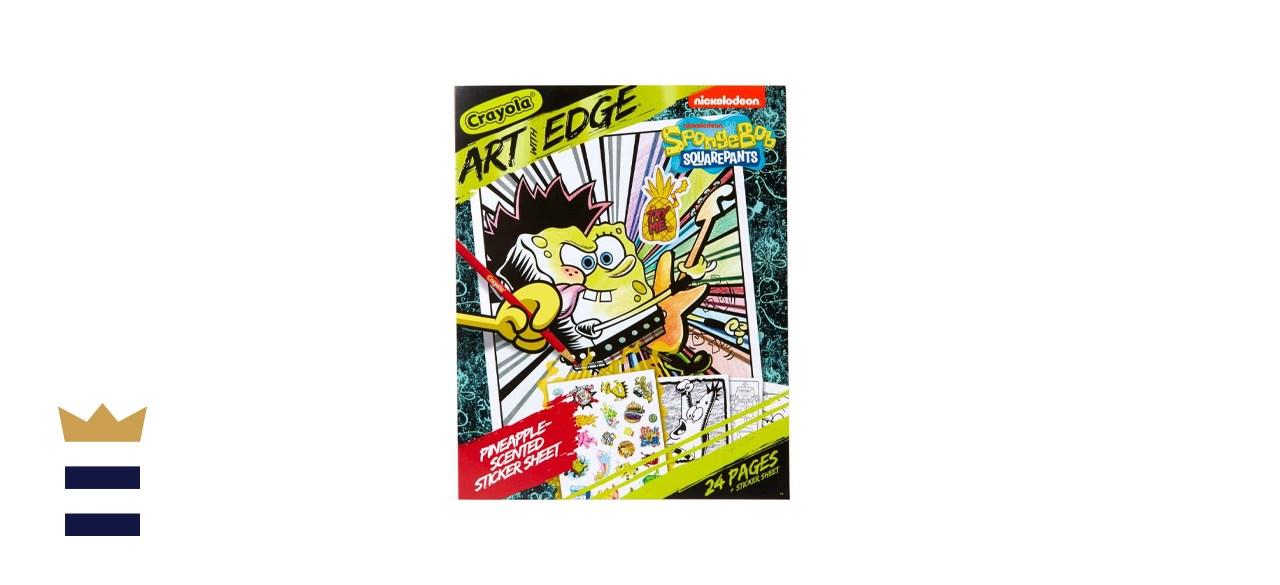 Crayola Spongebob Coloring Book Pages