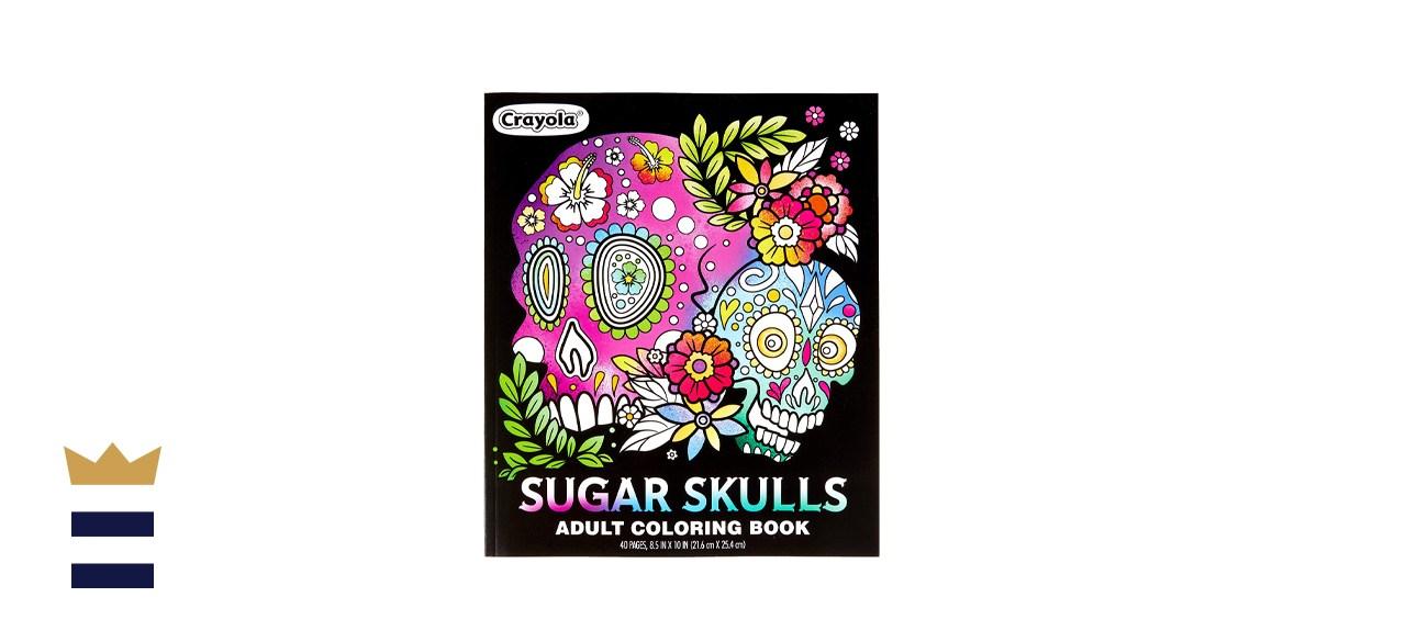 Crayola Sugar Skulls Coloring Book