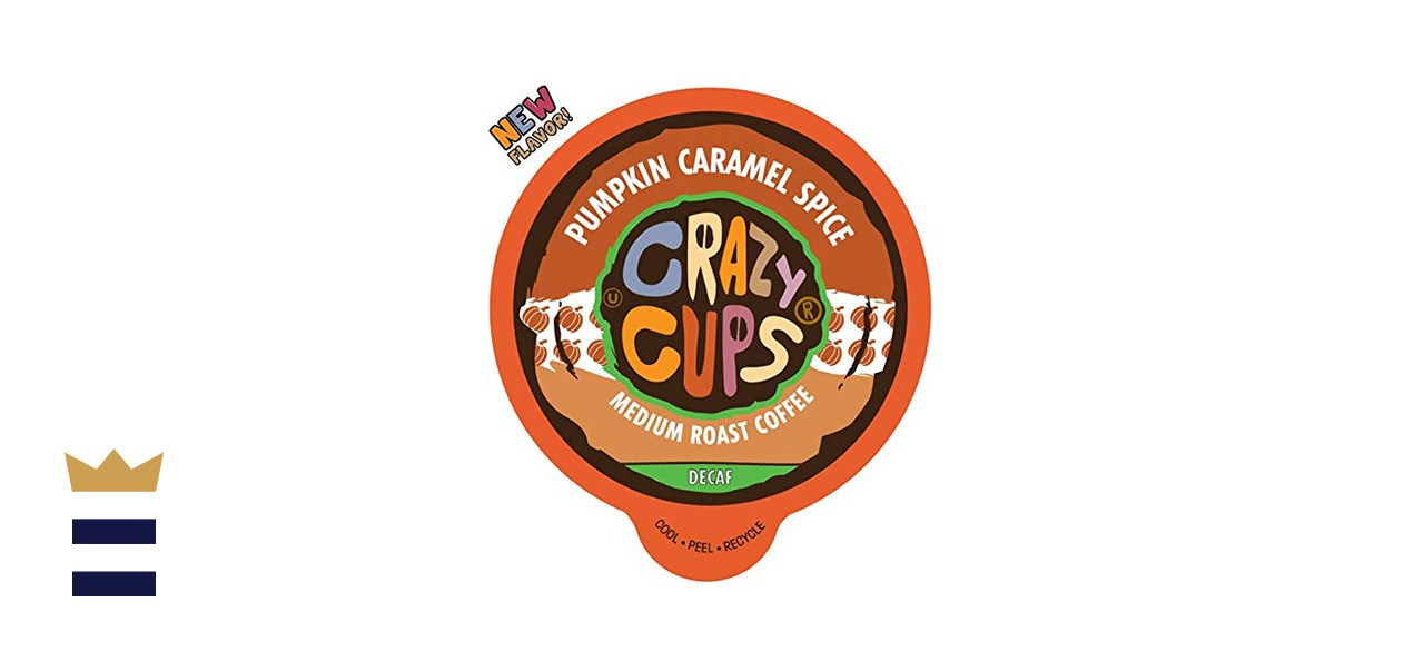 Crazy Cups Decaf Flavored Coffee - 80 Count