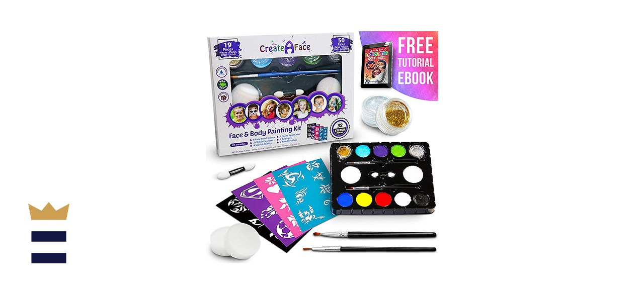 Create a Face Face Painting Kit for Kids